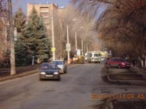 Уборка прилотковой ул.Калининградская