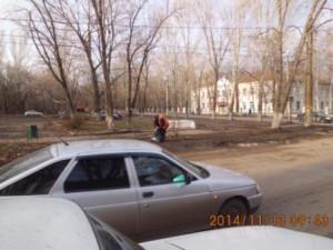 подбор мусора ул.Калининградская