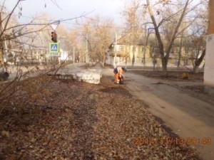 подбор мусора ул.Калининградская (1)