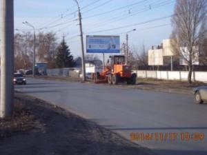 Планировка обочины ул.Новокуйбышевское шоссе