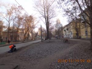 Подбор бытового мусора ул.Фасадная