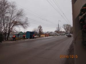 Очистка ООТ ул.Кряжское шоссе