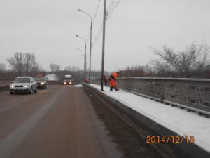 очистка от снега п.п 116 км