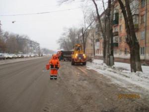 Вывоз снега ул.Гагарина
