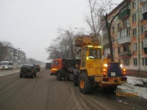 Вывоз снега ул.Гагарина (1)