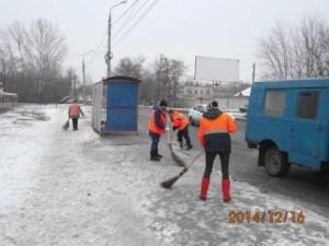 очистка ООТ Фасадная ул.Грозненская