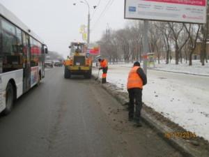 Вывоз снега ул. Гагарина