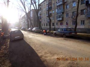 Подбор мусора ул.Молодежный пер.
