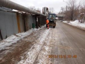 Тротуар под путепроводом Угольный