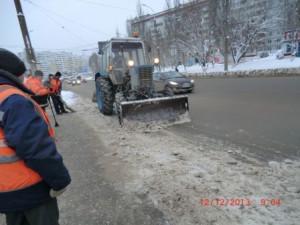 Кирова механизированная уборка снега