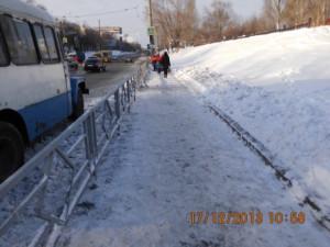очистка тротуара вручную по Аэродромной