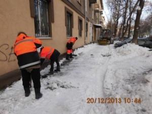 И.Булкина отчистка тротуара (3)