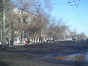 Пугачевский тр. сбор мусора