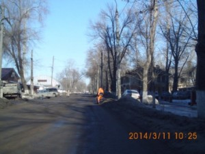 ул.Калининградская сбор мусора