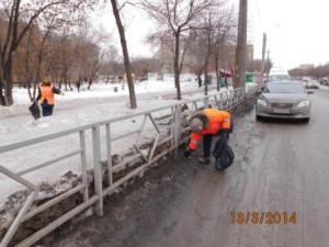 Подбор посторонних предметов ул. Аэродромная (1)