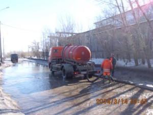 Откачка воды ул.Заводская