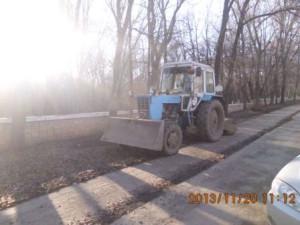 Ставрпольская мех.уборка тротуара