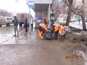 Очистка посадочных площадок ул. 22 Партсъезда (2)