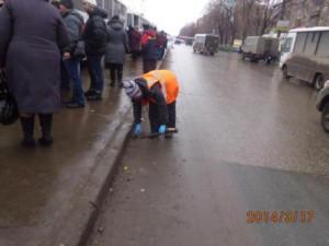 Очистка посадочных площадок ул. 22 Партсъезда
