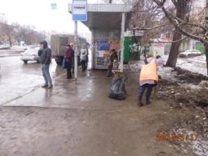 Очистка посадочных площадок ул. 22 Партсъезда (1)