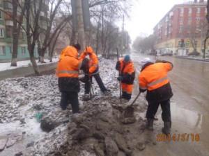 Очистка ДП ул. Физкультурная