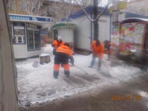 Очистка ООТ по улице 22 Партсъезда (1)