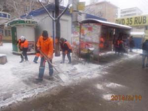 Очистка ООТ по улице 22 Партсъезда (2)