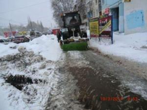 Стара-Загора уборка тротуара