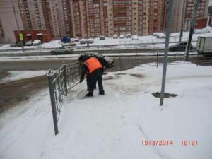 Шверника уборка,посыпка тротуаров (1)