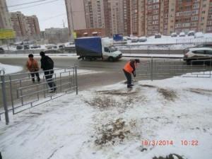 Шверника уборка,посыпка тротуаров (2)