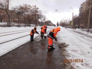 Очистка ООТ улица Антонова Овсеенко
