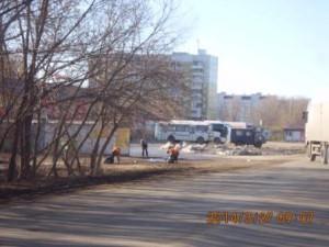 Пугачевский тр,подбор мусора
