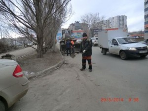 22 партсъезд уборка прилатковой части (3)
