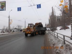 погрузка снега на СВМ от Осипенко в сторону Ладьи (3)