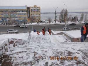 очистка лестничного спуска Осипенко на СВМ (1)