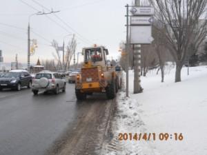 погрузка снега на СВМ от Осипенко в сторону Ладьи (1)