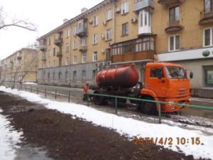 Откачка ул.Молдавская