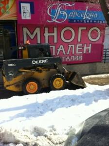 очистка тротуаров молодогвардейская (3)