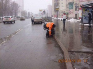 подбор мусора по ул.Солнечная