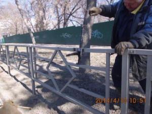 Ново-Вокзальная-Нагорная ремонт ограждений (8)