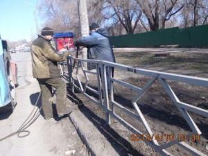 Ново-Вокзальная-Ставропольская ремонт ограждений (1)
