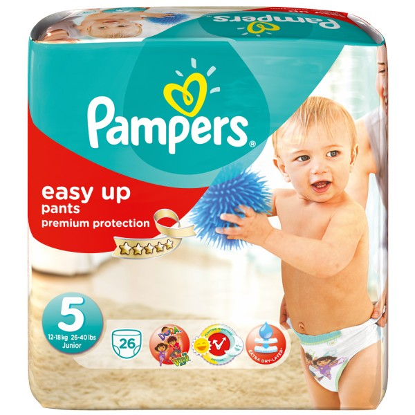 Реклама Pampers Easy Up pants