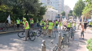 Вход в парк Pharo, день велосипеда, воскресенье, 5 июня 2016 года