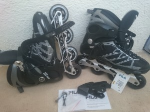 Ролики FILA Master Wave Black 44