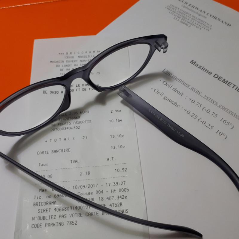 первые очки с диоптрией