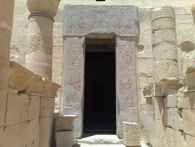 Египет. Храм царицы Хатшепсут