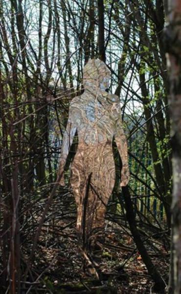 призраки в лесу