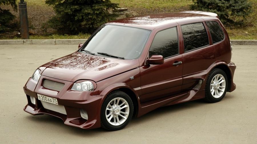 Вот это машина Chevrolet Niva