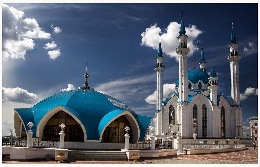 Казанский-Кремль-Мечеть-Кул-Шариф