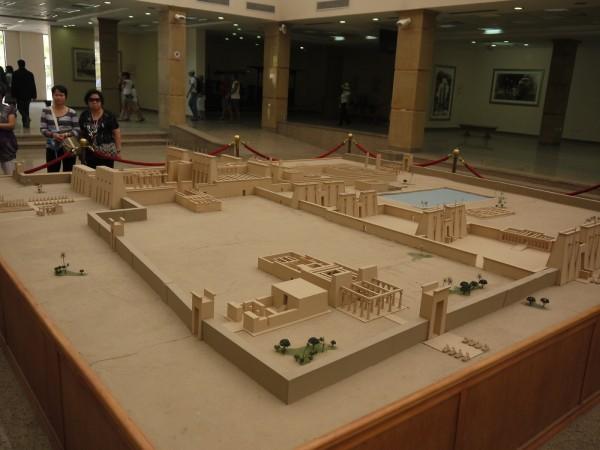 Схема Карнакского храма